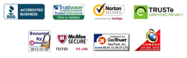 Use Security Badges to Make People Feel Secure When Giving Their Information Away